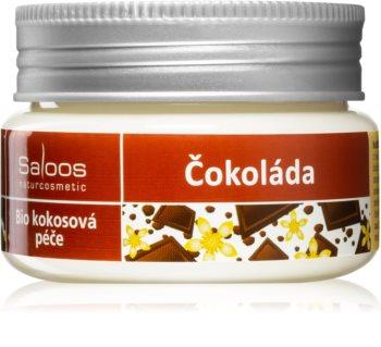 Saloos Bio Coconut Care tratamento bio com óleo de coco Chocolate