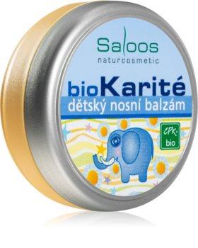 Saloos Bio Karité balsamo decongestionante per bambini