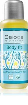 Saloos Bio Body and Massage Oils test és masszázs olaj Body Fit