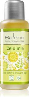 Saloos Bio Body and Massage Oils huile corporelle pour massage Celulinie