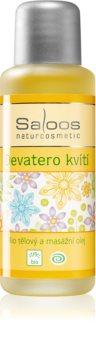 Saloos Bio Body and Massage Oils huile corporelle pour massage Neuf fleurs