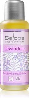 Saloos Bio Body and Massage Oils huile corporelle pour massage Lavande
