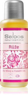 Saloos Bio Body and Massage Oils huile corporelle pour massage Rose