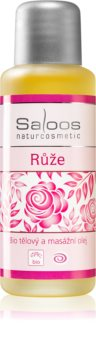 Saloos Bio Body and Massage Oils tělový a masážní olej Růže
