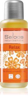 Saloos Bio Body and Massage Oils test és masszázs olaj Relax