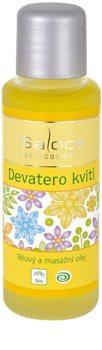 Saloos Bio Body and Massage Oils ulei de corp pentru masaj, cu nouă flori