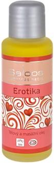 Saloos Bio Body and Massage Oils olio per corpo e massaggi Erotika