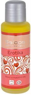Saloos Bio Body and Massage Oils telový a masážny olej Erotika