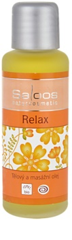 Saloos Bio Body and Massage Oils olio per corpo e massaggi Relax