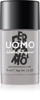 Salvatore Ferragamo Uomo Deodorant Stick without Alcohol for Men