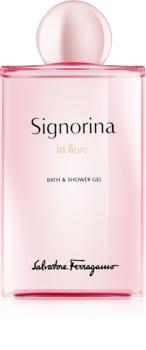 Salvatore Ferragamo Signorina in Fiore gel de duș pentru femei