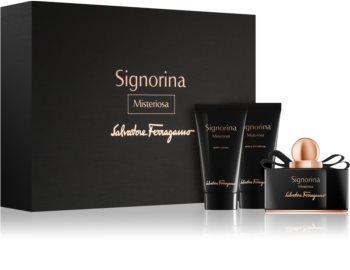 Salvatore Ferragamo Signorina Misteriosa set cadou IV. pentru femei