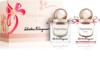 Salvatore Ferragamo Signorina coffret IX. para mulheres