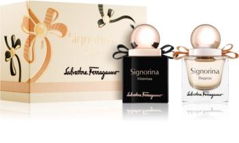 Salvatore Ferragamo Signorina poklon set VIII. za žene