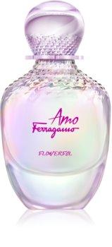 Salvatore Ferragamo Amo Ferragamo Flowerful Eau de Toilette voor Vrouwen