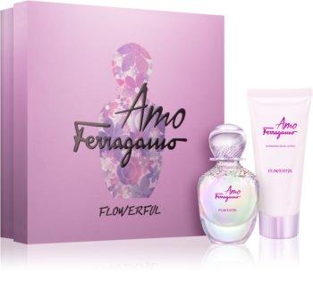 Salvatore Ferragamo Amo Ferragamo Flowerful coffret cadeau I. pour femme