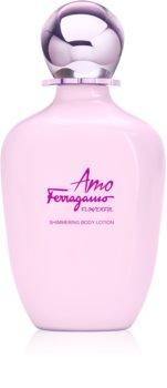 Salvatore Ferragamo Amo Ferragamo Flowerful testápoló tej hölgyeknek