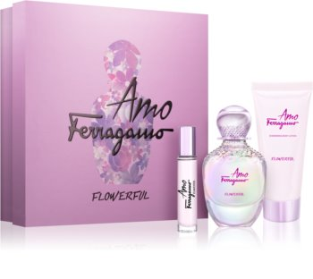 Salvatore Ferragamo Amo Ferragamo Flowerful set cadou II. pentru femei
