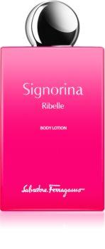 Salvatore Ferragamo Signorina Ribelle tělové mléko pro ženy