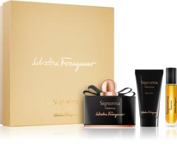 Salvatore Ferragamo Signorina Misteriosa set cadou III. (pentru femei)