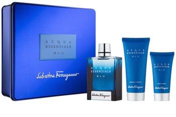 Salvatore Ferragamo Acqua Essenziale Blu dárková sada V. pro muže