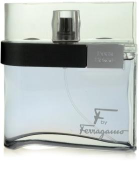Salvatore Ferragamo F by Ferragamo Black Eau de Toilette til mænd