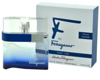 Salvatore Ferragamo F by Ferragamo Free Time toaletní voda pro muže