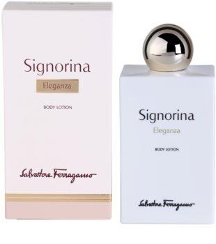 Salvatore Ferragamo Signorina Eleganza mleczko do ciała dla kobiet