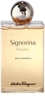 Salvatore Ferragamo Signorina Eleganza gel de duș pentru femei