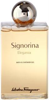 Salvatore Ferragamo Signorina Eleganza żel pod prysznic dla kobiet