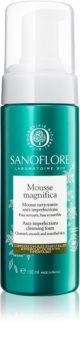 Sanoflore Magnifica tisztító hab a bőr tökéletlenségei ellen