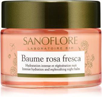 Sanoflore Rosa Fresca regeneráló éjszakai krém