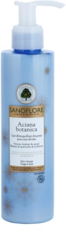 Sanoflore Aciana Botanica tisztító tej hidratáló hatással