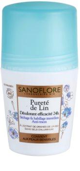 Sanoflore Déodorant дезодорант рол-он без алуминий 24 часа
