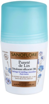 Sanoflore Déodorant déodorant roll-on sans aluminium 24h
