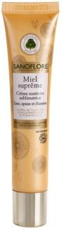 Sanoflore Miel Supreme Visage θρεπτική κρέμα για λαμπρότητα και λείανση επιδερμίδας