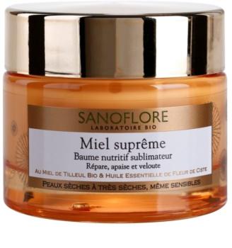 Sanoflore Miel Supreme Visage подхранващ балсам за суха или много суха кожа