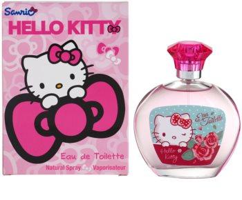 Sanrio Hello Kitty Eau de Toilette para crianças 100 ml
