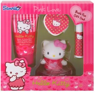 Sanrio Hello Kitty Pink Love zestaw upominkowy II.