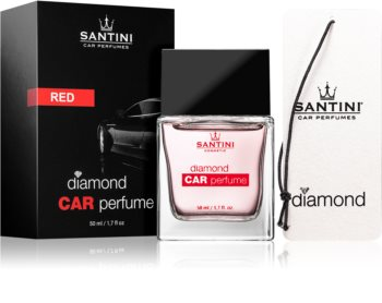 SANTINI Cosmetic Diamond Red vôňa do auta