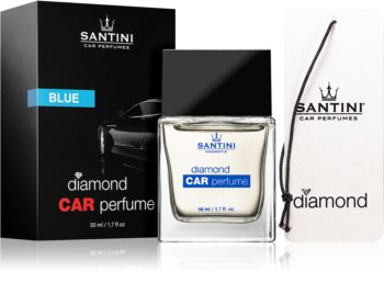 SANTINI Cosmetic Diamond Blue auto luchtverfrisser