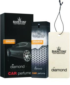 SANTINI Cosmetic Diamond Orange car air freshener