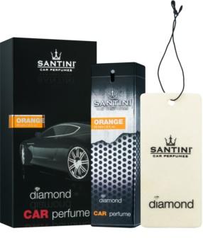 SANTINI Cosmetic Diamond Orange désodorisant voiture