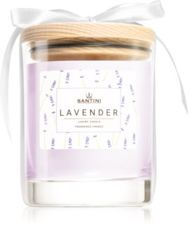 SANTINI Cosmetic Lavender scented candle