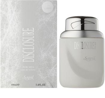 Sapil Disclosure White woda toaletowa dla mężczyzn 100 ml