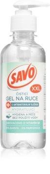 Savo XXL čisticí gel na ruce s antibakteriální přísadou