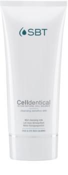 SBT Celldentical loção removedora e de limpeza sem perfume