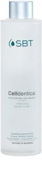 SBT Celldentical tónico hidratante sem álcool