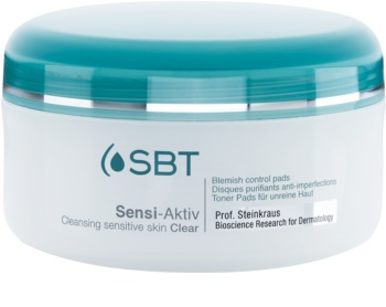 SBT Sensi Aktiv toalhetes de limpeza para pele sensível