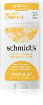 Schmidt's Coconut Pineapple deodorante solido
